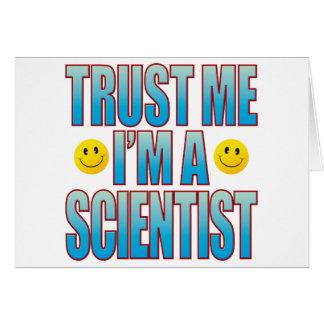 Trust Me Scientist Life B Card