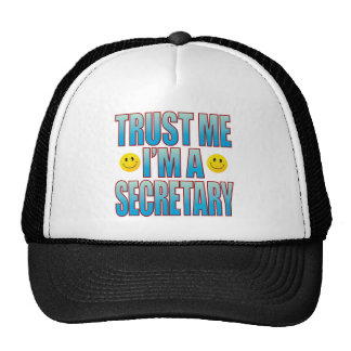 Trust Me Secretary Life B Trucker Hat
