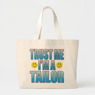 Trust Me Tailor Life B Large Tote Bag