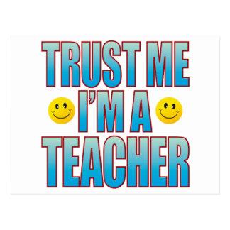 Trust Me Teacher Life B Postcard