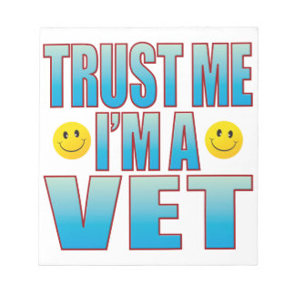 Trust Me Vet Life B Notepad