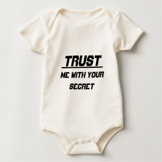 Trust me with your secret baby bodysuit