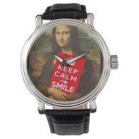 Trust Mona Lisa! Wrist Watches