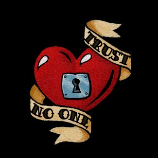 Trust No One necklace