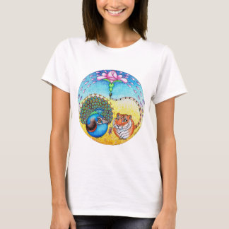 'Trust' Peacock and Tiger T-Shirt
