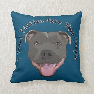 Trust Pitties - Pitbull Pillow