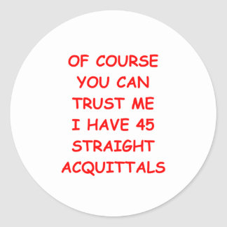 TRUST png Round Stickers