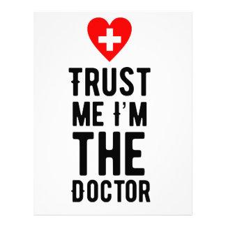 Trust the Doctor Letterhead