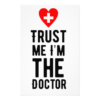 Trust the Doctor Stationery