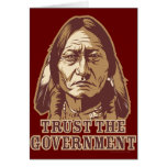 Trust The Government Greeting Cards