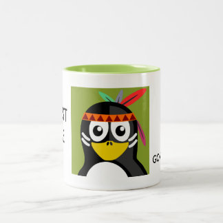 Trust the Government Indian Penguin Two-Tone Coffee Mug