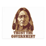 Trust The Government Postcard