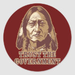 Trust The Government Stickers