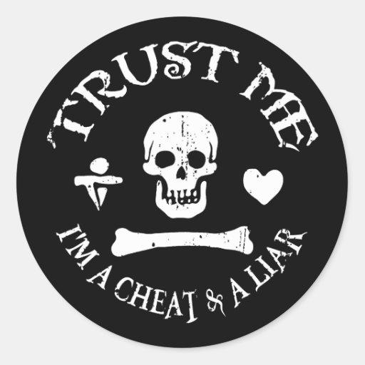 Trust the Pirate Stickers