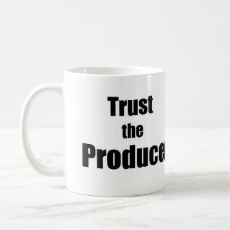Trust the producers Coffee Mug