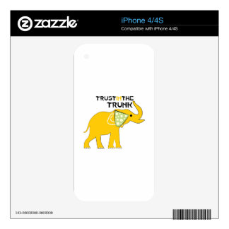 Trust The Trunk Decals For iPhone 4S