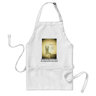Trust your food? adult apron