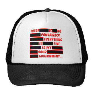 Trust Your Government Everything Is Fine Trucker Hat