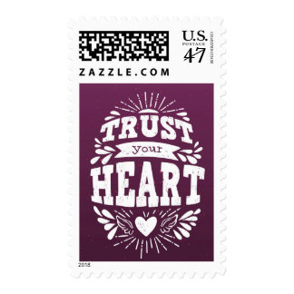Trust Your Heart Postage
