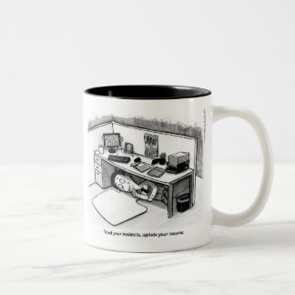 Trust Your Instincts Two-Tone Coffee Mug
