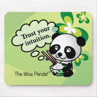 Trust your intuition mouse pad