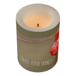 Trust Your Wings Dragonfly Custom Flameless Candle