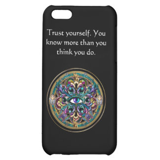 Trust Yourself ~ The Eyes of the World Mandala Case For iPhone 5C