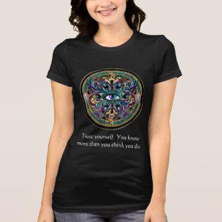 Trust Yourself ~ The Eyes of the World Mandala T-Shirt