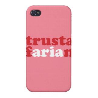 """""""Trustafarian """" iPhone 4/4S Carcasa"""