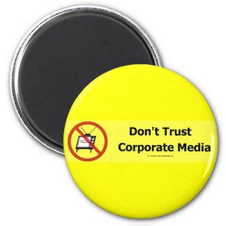 TrustCorpMedia Imán Redondo 5 Cm