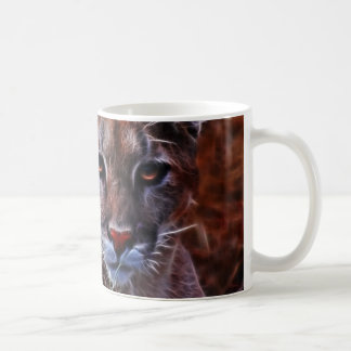 Trusted mountain lion coffee mug