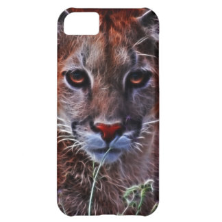 Trusted mountain lion iPhone 5C cover