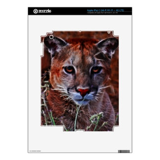 Trusted mountain lion iPad 3 decal