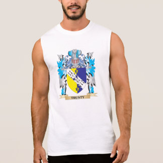 Trusty Coat of Arms - Family Crest Sleeveless Tee