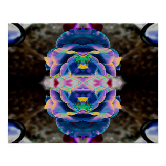 """Truth 2"" Abstract Meditation Rose Art Poster"