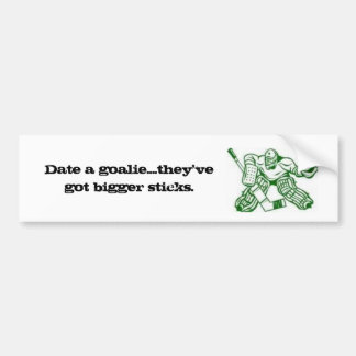 Truth about Goalies Bumper Sticker