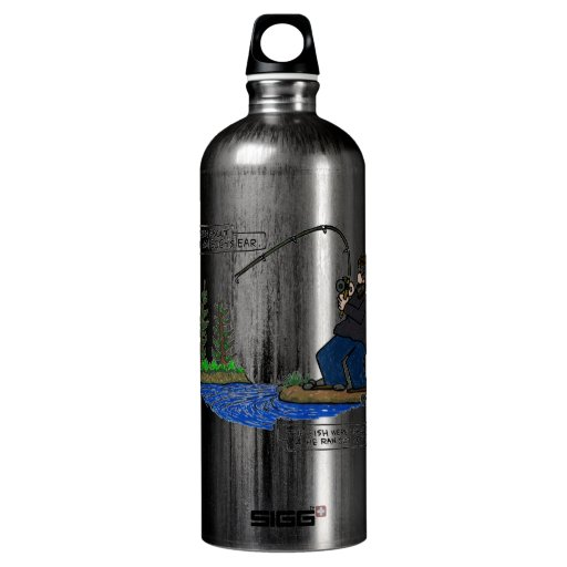 Truth about Van Gogh's ear...He ran out of bait... SIGG Traveler 1.0L Water Bottle