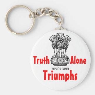 Truth Alone keychain