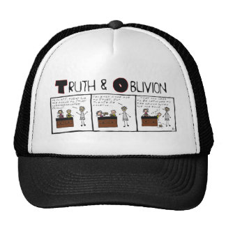 """Truth and Oblivion #6 """"Grey Matter Mesh Hat"""
