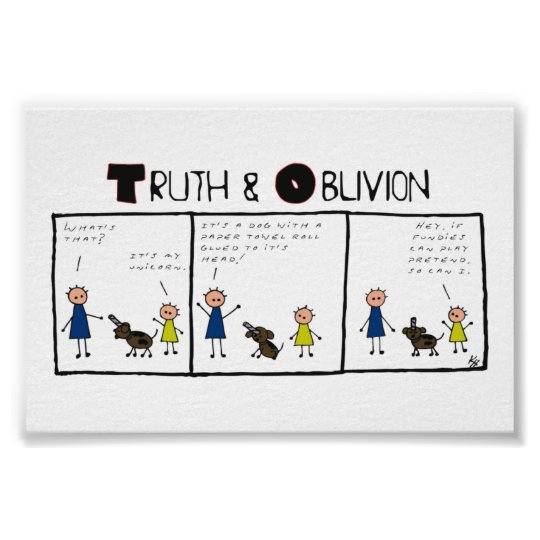 Truth and Oblivion - Unicorns Poster