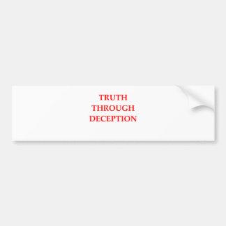 truth bumper stickers