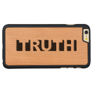 TRUTH CARVED® CHERRY iPhone 6 PLUS SLIM CASE