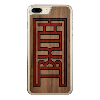 TRUTH CARVED iPhone 7 PLUS CASE