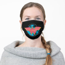 Truth Compassion Strength Comic Wonder Woman Logo Adult Cloth Face Mask