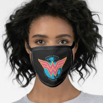 Truth Compassion Strength Comic Wonder Woman Logo Face Mask