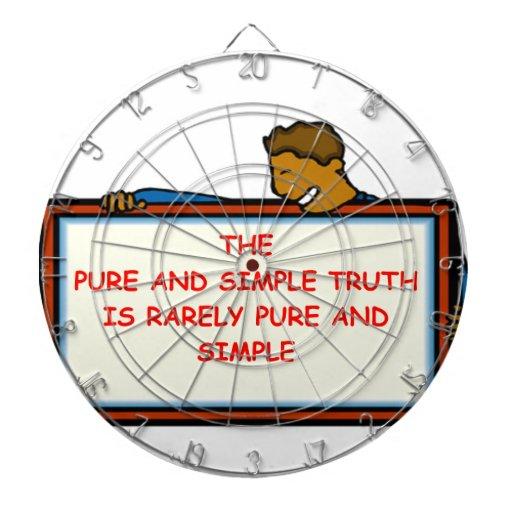 truth dart boards