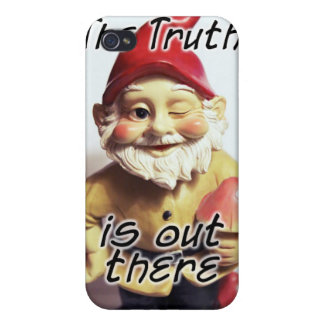 Truth Gnome iPhone 4 Cover