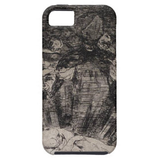 Truth Has Died by Francisco Goya iPhone SE/5/5s Case