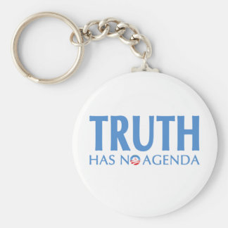 Truth Has No Agenda Keychain