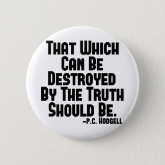Truth Hurts Button